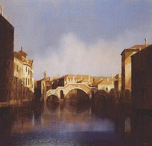 Martin Mooney (b.1960) Ponte Di Tre Archi,