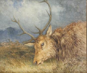 Alfred Grey RHA (1845-1926)