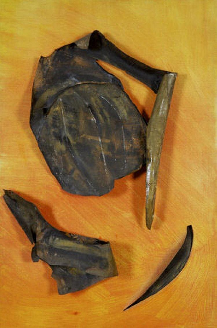 Deborah Brown (b.1927) Paper Mache forms on