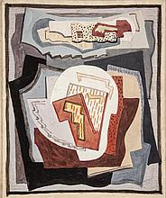 Mainie Jellett (1897-1944)CompositionGouache, 23.5 x 19cm (9¼ x 7½'')Provenance: Dr. Eileen MacCarvill and a gift to her daughter, Mrs. Éilis Brennan.Exhibited: 'Mainie Jellett: Abstracts', The Neptune Gallery, September/October 1980, Cat. No.13;