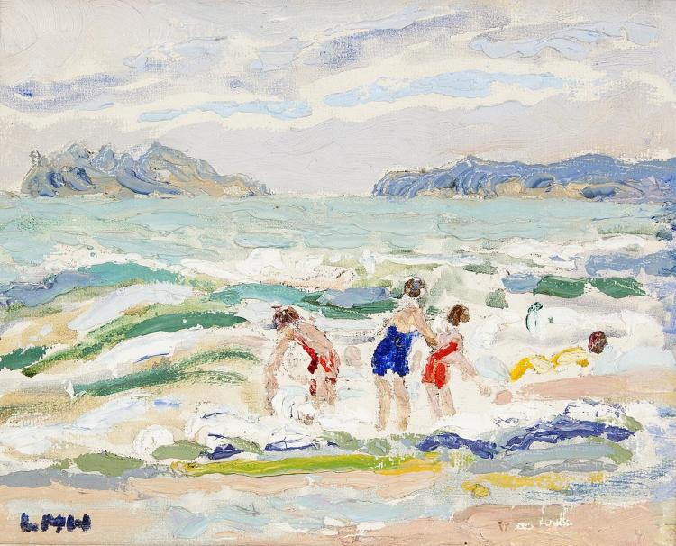 Letitia Marion Hamilton RHA (1878-1964)PortmarnockOil on board, 20 x 25.5cm (8 x 10'')Signed with initialsProvenance: With the Dawson Gallery Dublin, where purchased by N. de Chenn Esq.