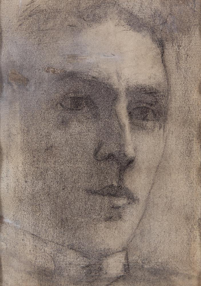 Paul Henry RHA (1877-1958)Portrait of Stephen Gwynn (c.1921)Pencil and charcoal on paper, 22 x 15cm (8¾ x 6'')Provenance: Oriel Gallery, Dublin 1978.Literature: S.B. Kennedy 'Paul Henry: Paintings, Drawings, Illustrations', Yale University Press,