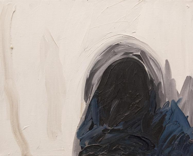 Cecily Brennan (b.1955)Sea CaveOil on canvas, 33 x 41cm (13 x 16)Signed verso and dated 1988