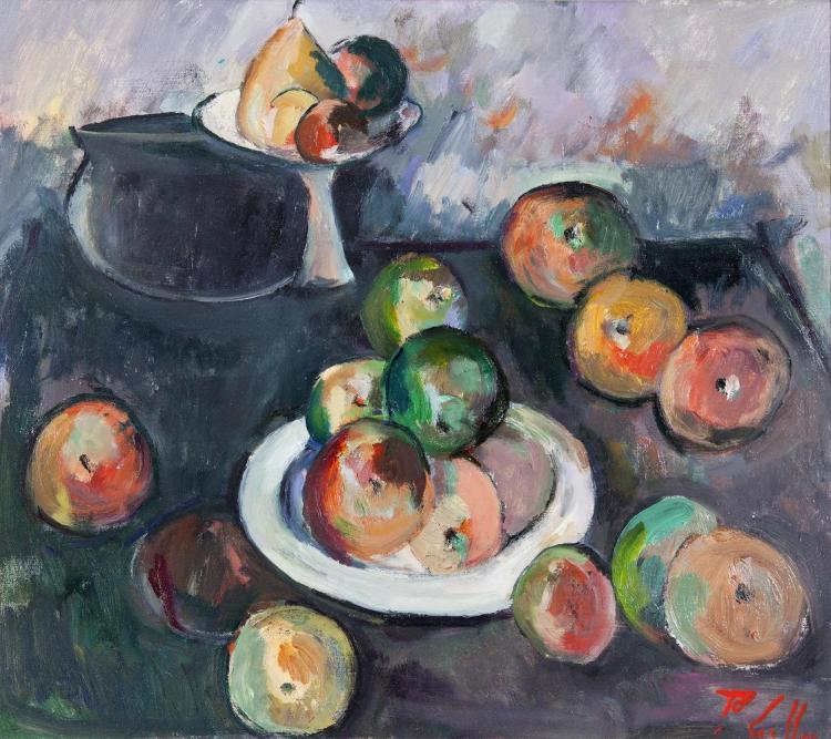 Peter Collis RHA (1929-2012)Still LifeOil on canvas, 46 x 51cm (18 x 20)Signed