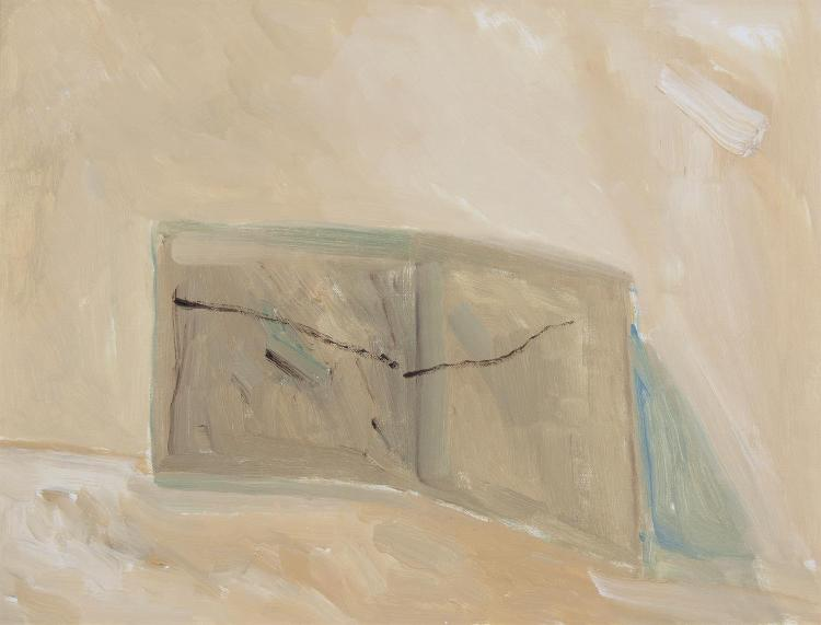 Charles Brady HRHA (1926-1997)Envelope Wallet (1997)Oil on linen, 28 x 35.5cm (11 x 14)(AR RT54)Provenance: A gift from the artist to the current ownerTaylor Galleries Dublin label verso