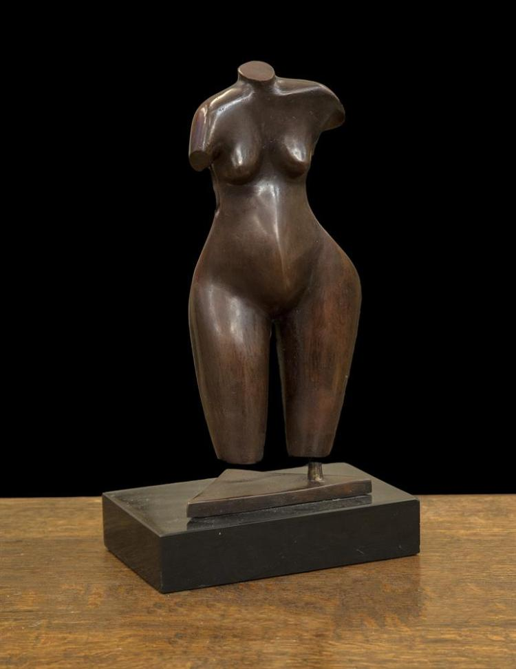 Conor Fallon ARHA (1939-2007)Pregnant WomanBronze, 34cm high (13¼''), including baseSigned, from an edition of 9Exhibited: RHA Annual Exhibition 1994, Catalogue No.445 (one of this edition); 'Conor Fallon Exhibition', Theo Waddington Fine Art, Ma