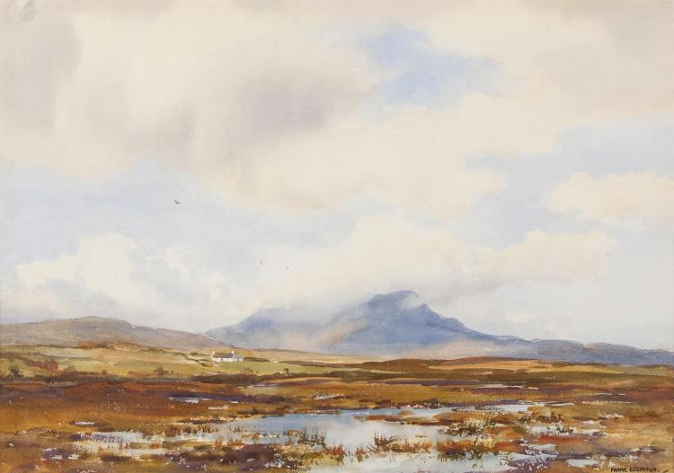 Frank Egginton RCA FIAL (1908-1990)Muckish from Drumnaraw, Co. DonegalWatercolour, 38 x 54cm (15 x 21¼)Signed