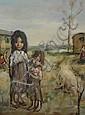 Georgette Nivert (20th century); oil on canvas,