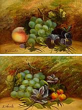 EVELYN CHESTER (1875-1925); a pair of oils on