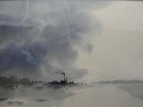 John Burman; watercolour