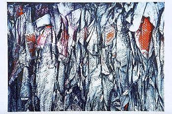 David Stephenson (b.1960) Slant Lambda chrome