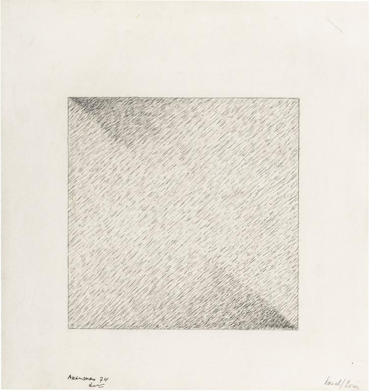 Four inscribed drawings by Ben Akkerman