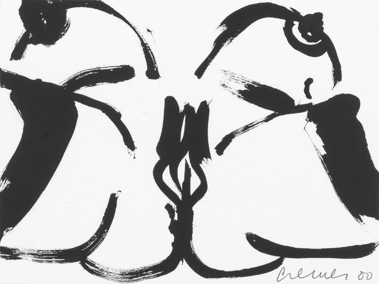Jan Cremer in black and white: Portrait of Pandora