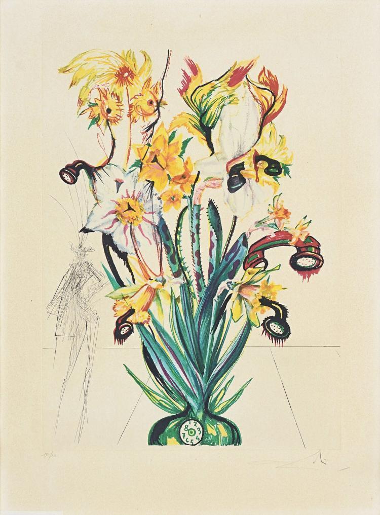 Surrealistic Narcissus by Salvador Dali