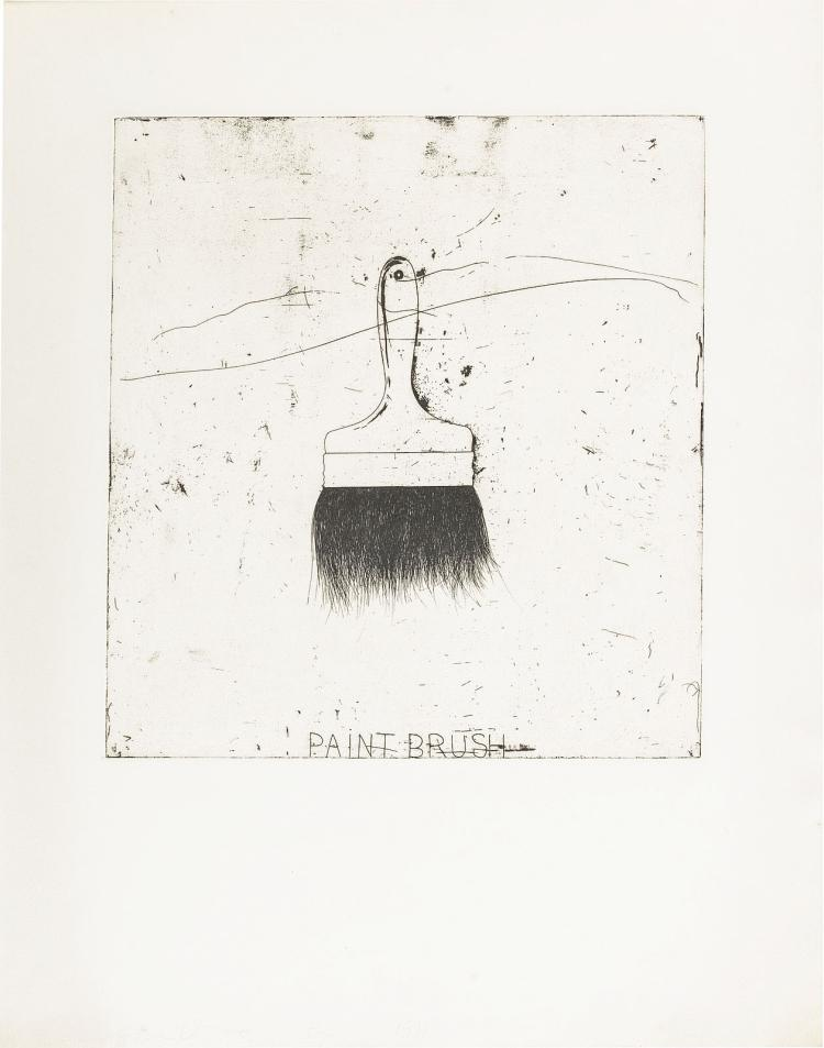 Jim Dine's Paintbrush, one of 15 artist's proofs only