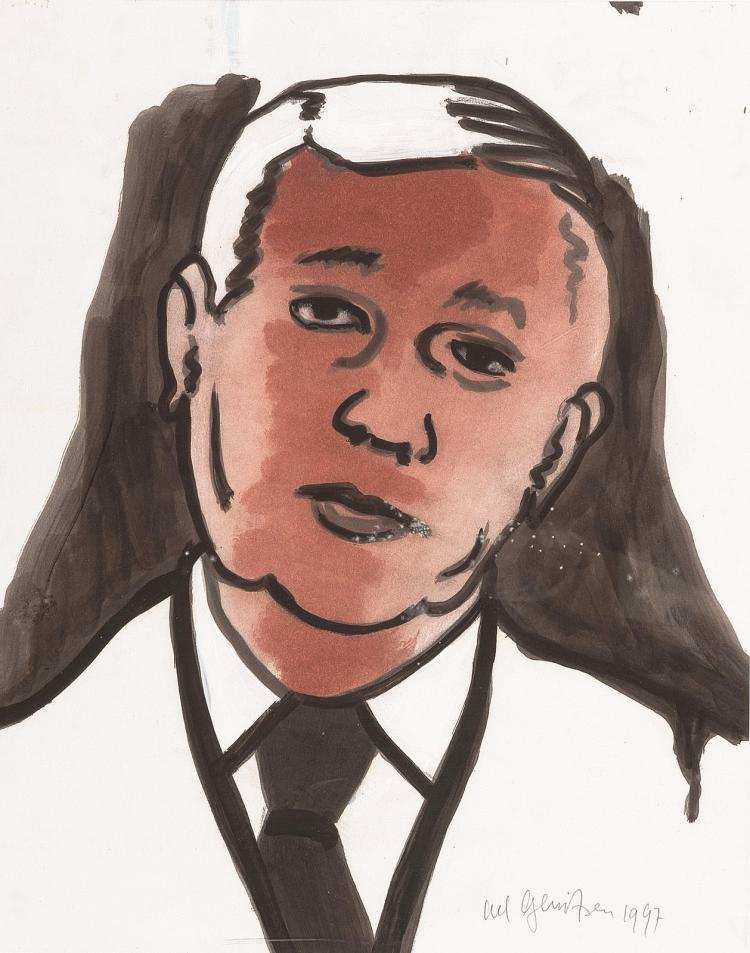Georges Bataille as seen by Ad Gerritsen