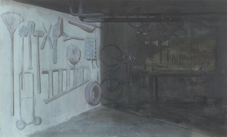 Arjan van Helmond's Garage, an optical illusion