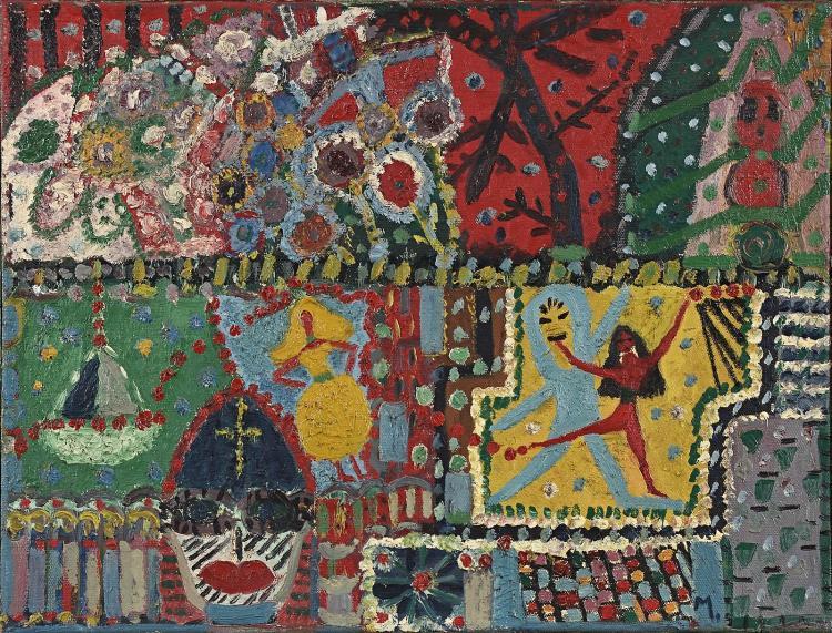 Rare work by legendary Amsterdam eccentric Mary Noothoven van Goor