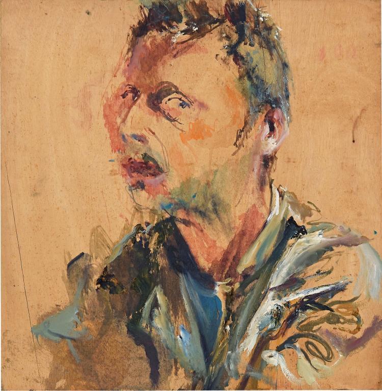 Self-portrait as Vincent in Barcelona by Sam Drukker