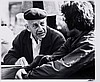 Paul Citroen sketching on Dam square, 1976, Koster Nico, Click for value