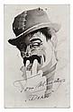 DORUS [Ps. MANDERS, Antoon (1921-1972)]. Postcard
