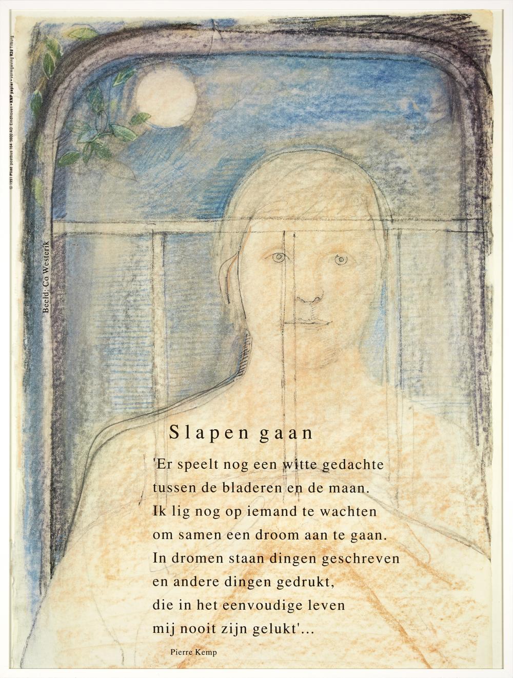3 Poëzieposters 3 Poetry Posters Ca 1991