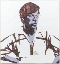 Portrait of Frans Molenaar by Jan Aarntzen