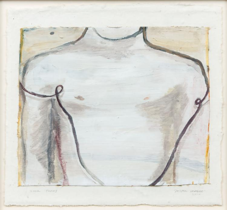 Male torso by Jasper Krabbé for his patron Frans Molenaar