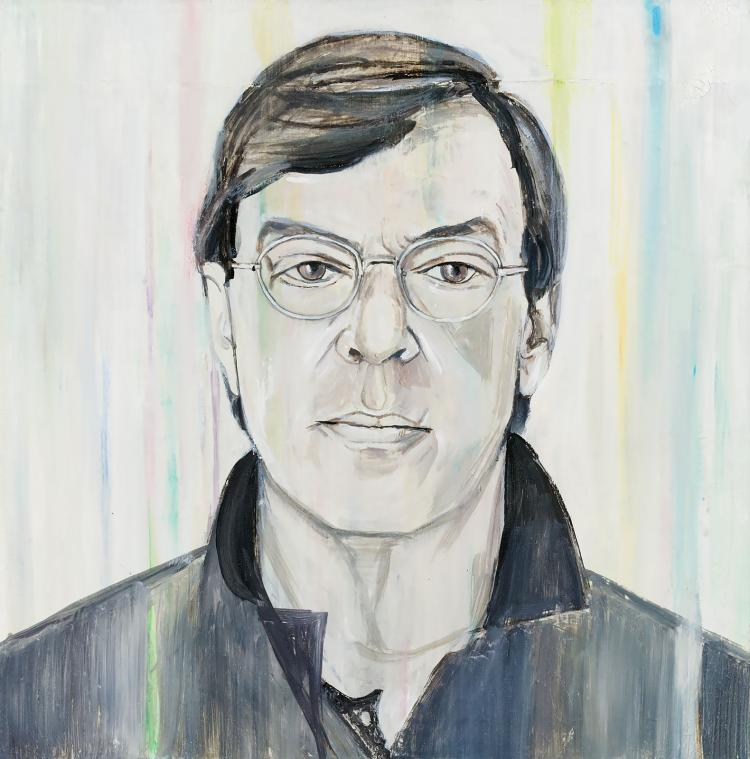 A portrait of Frans Molenaar by Jasper Krabbé