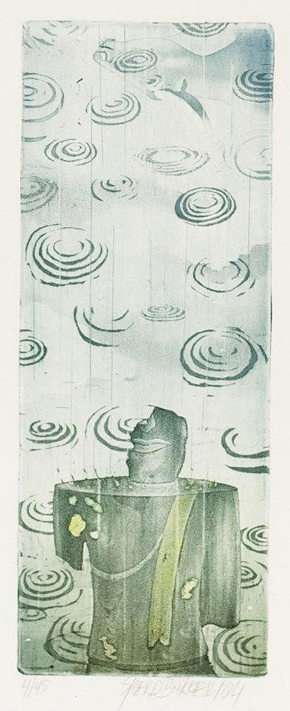 Signed aquatint by Sjoerd Bakker