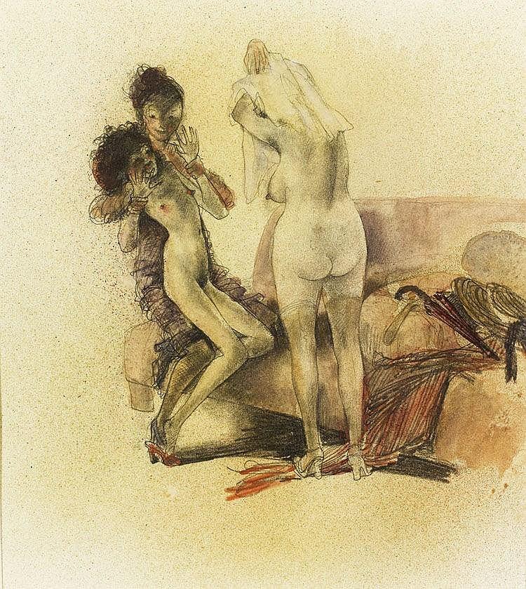 evropeyskaya-eroticheskie-gravyuri-porno-s-krasotki-so-straponom-i-dildo