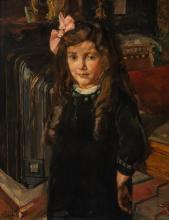 Charming portrait of six-year-old Dora