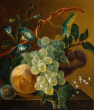 Gifts of nature in a 19th century still life