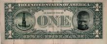 'Meschac Gaba's smile overtakes the eagle's position on a dollar bill'