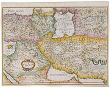 Very nice 17th century map of Persia
