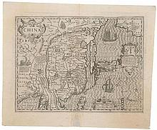 The scarce Hondius map of China