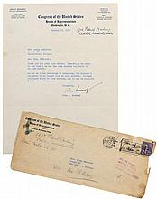 Signed letter by the 'wrong' Kennedy