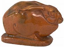 Original terracotta hare by Joseph Mendes da Costa
