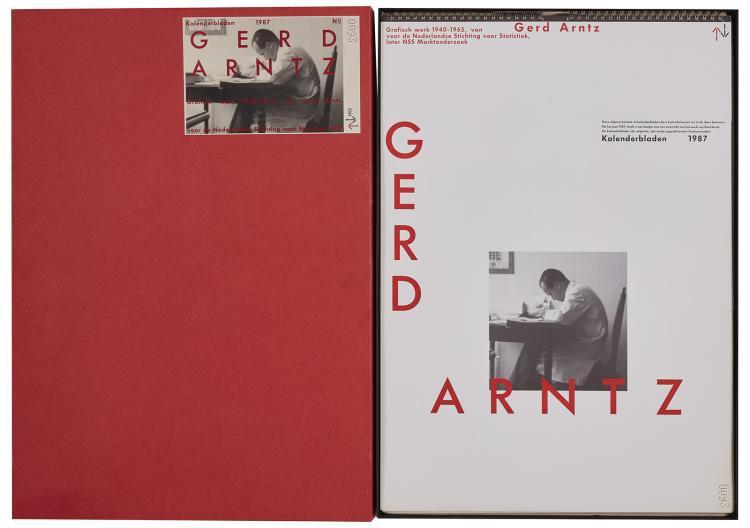 Gerd Arntz - Calendar in linocuts
