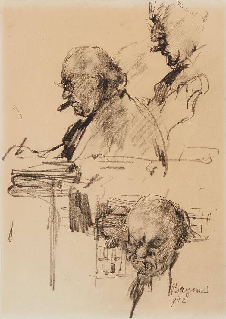 Geert van Oorschot by Hans Bayens
