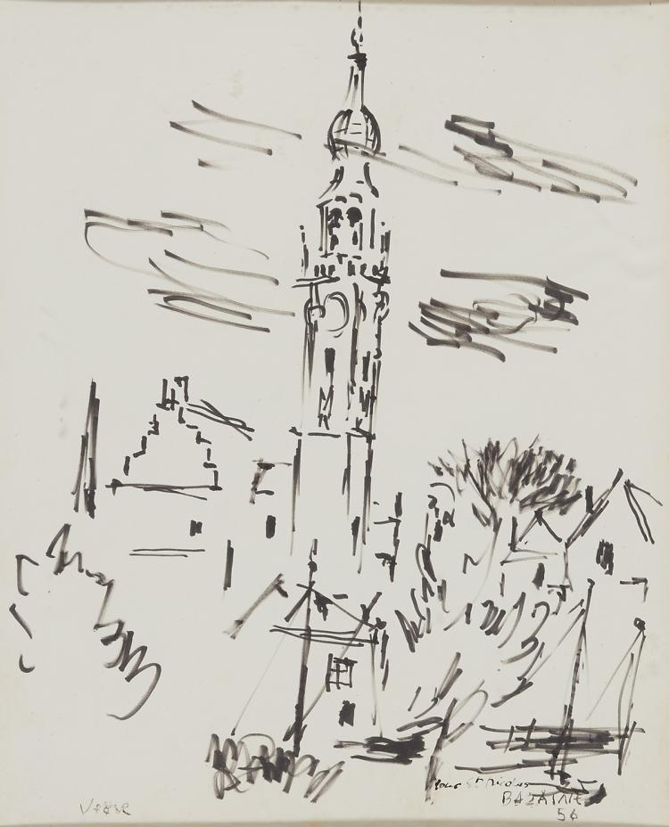 View on Veere by Bazaine with an A.L.S.