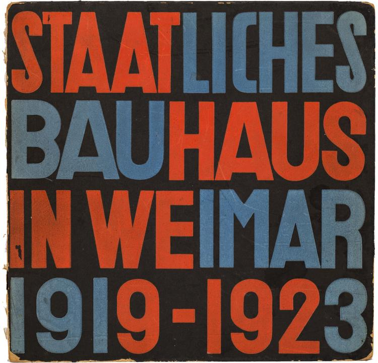 Modernist milestone, first significant display of Bauhaus