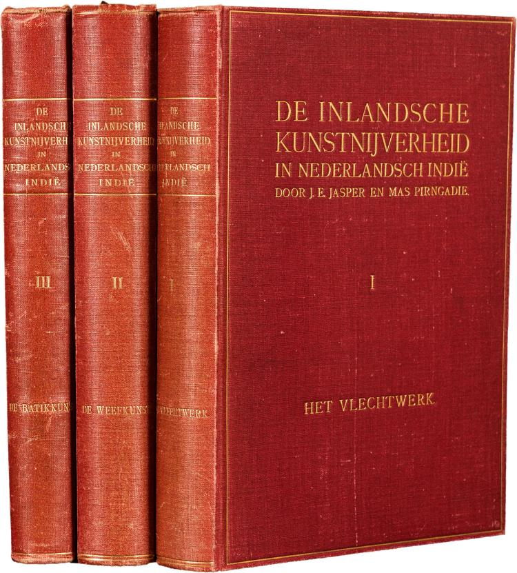 First three books of a standard work on Indonesian art