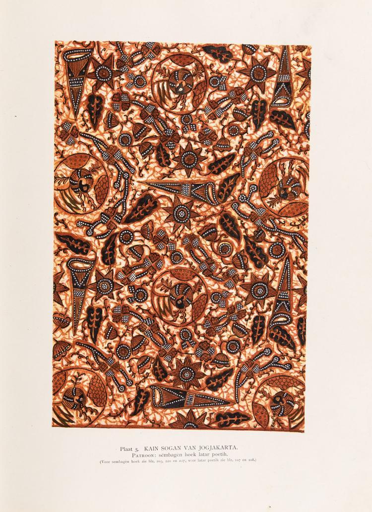 The sought after standard work on Indonesian batik