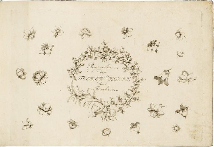 Beginselen der Teeken-Konst voor Juweliers, stamped Citroen