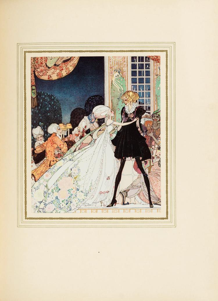 Very fine copy: Sous le Signe du Rossignol illustrated by Kay Nielsen