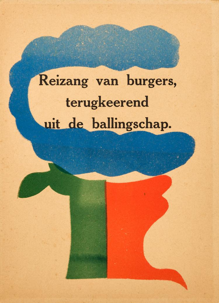 Very fine copy of a clandestinely printed book by H.N. Werkman