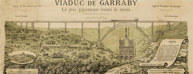 Eiffel's Viaduc de Garabit: