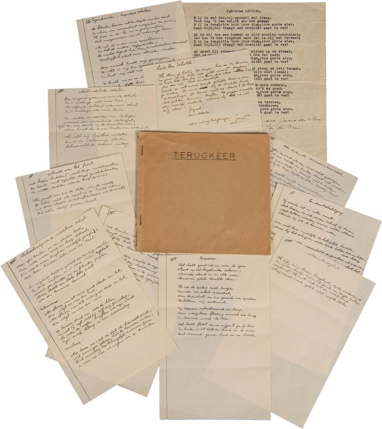 Terugkeer, the Holy Grail of Reve collecting with 9 autograph poems