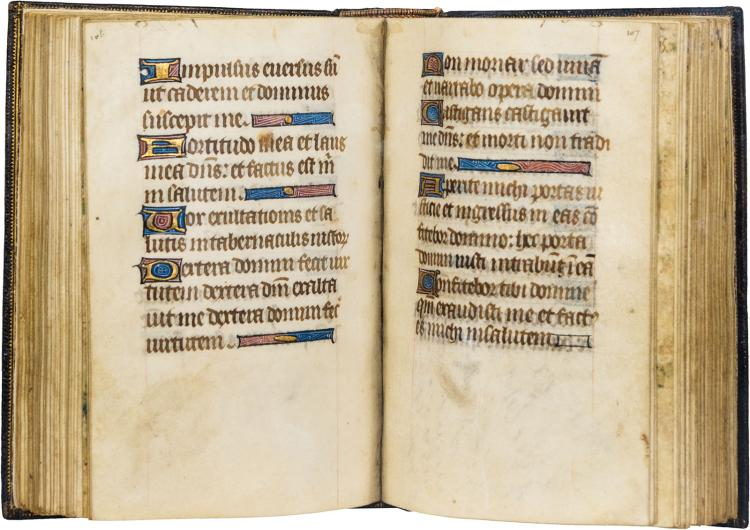 A mutilated but interesting Breviary, together with a companion volume